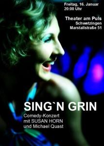 166 - Sing n grin Susan Horn