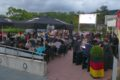 EM-Spiele live: Fody's Arena Leimen technisch top – Auch bei Regen
