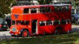 Fody's goes British: Original Bristol Lodekka Doppeldecker-Bus als Event-Location