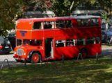 Fody's goes British: Original Bristol Lodekka Doppeldecker-Bus als Event-Location
