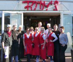 Gute Laune im Fody's Restaurant am Bäderpark – Sanierung schreitet voran