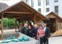 Leimener Weinkerwe am Wochenende: </br>Fody's Almhütte gegenüber Rathaus steht