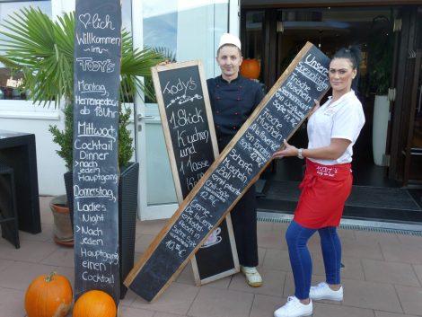 Fody's Restaurant am Leimener Bäderpark mit herbstlichen Spezialangeboten und Goodies